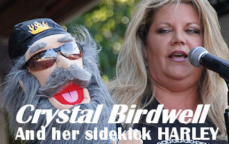 World famous Ventriloquist Crystal Miller - AS SEEN ON TV !!!  Performing live Thursday, Friday and Saturday