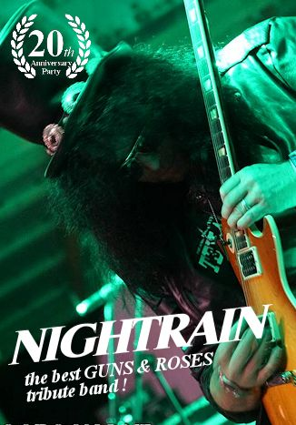 Nighttrain - the best Guns and Roses tribute band