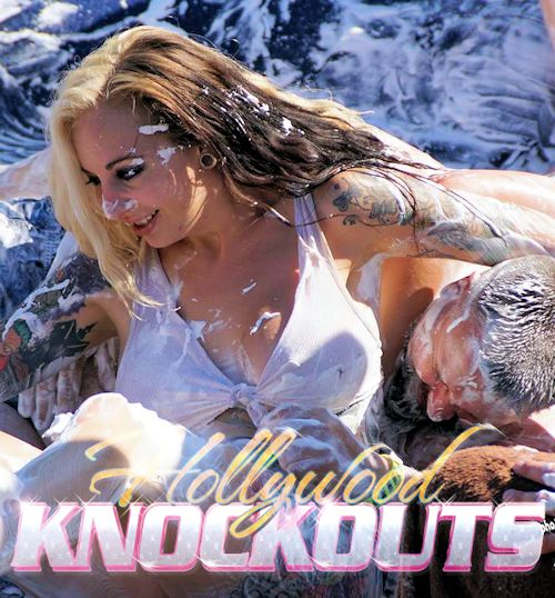 Hollywood Knockouts oil wrestling><br><br>