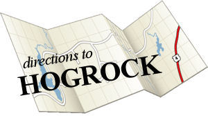 driving directions to HOGROCK