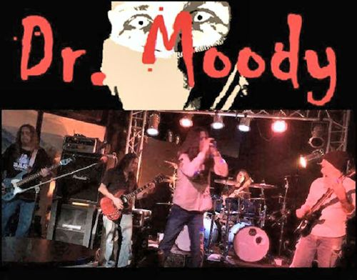 live bands DR MOODY
